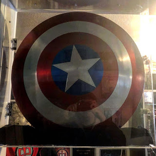 The Sheild used by Captain America, in the film Captian America: The First Avenger.