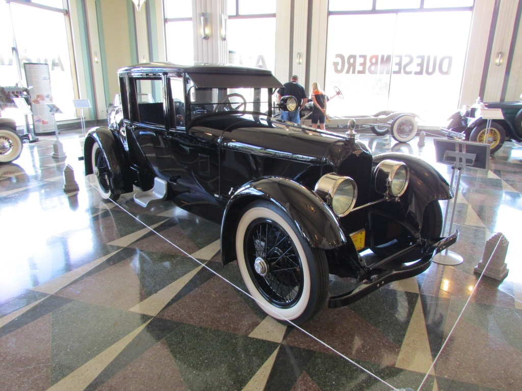 The first road going Duesenberg ever made.