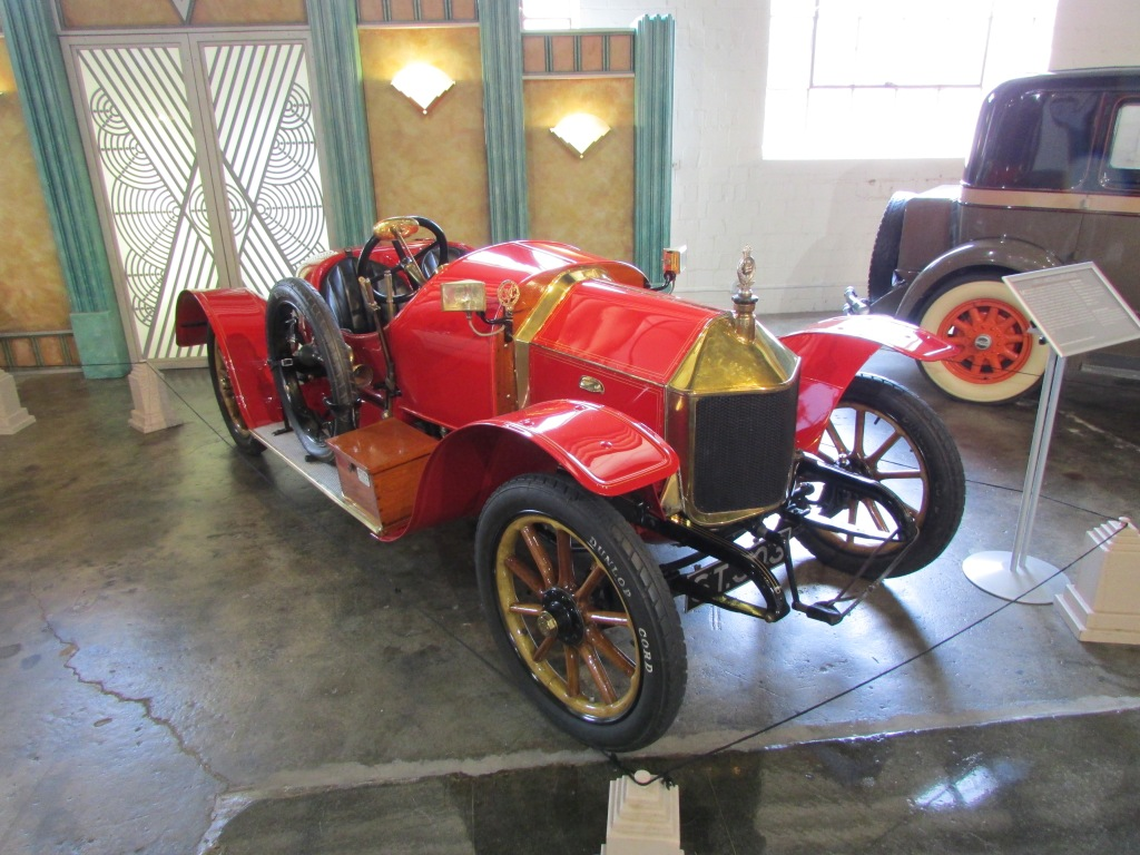 A 1911 Metallurique. An early sports car.