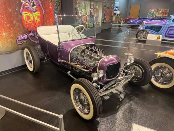 Ed Roth's custom car Tweedie Pie.